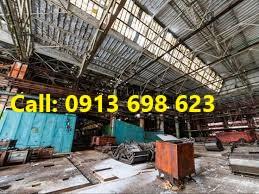 Nơi thu mua mái tôn, khung, dầm, xà gồ, cột nhà xưởng cũ Bắc Ninh, Hà Nội