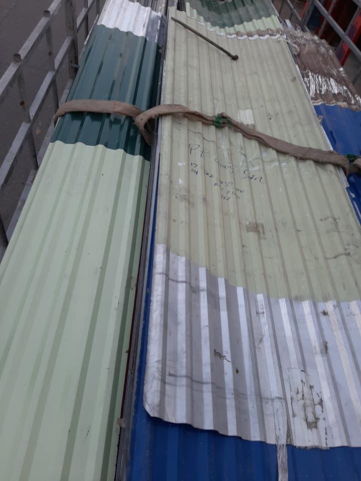 Báo giá mua bán sắt tôn cũ đã qua sử dụng ở Bình Dương, Tp HCM, Long An. Call: 0913 698 623