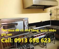 Mua bán bàn ghế đồ cũ nhà hàng, quán nhậu ở tại Bình Dương. Call: 0913698623