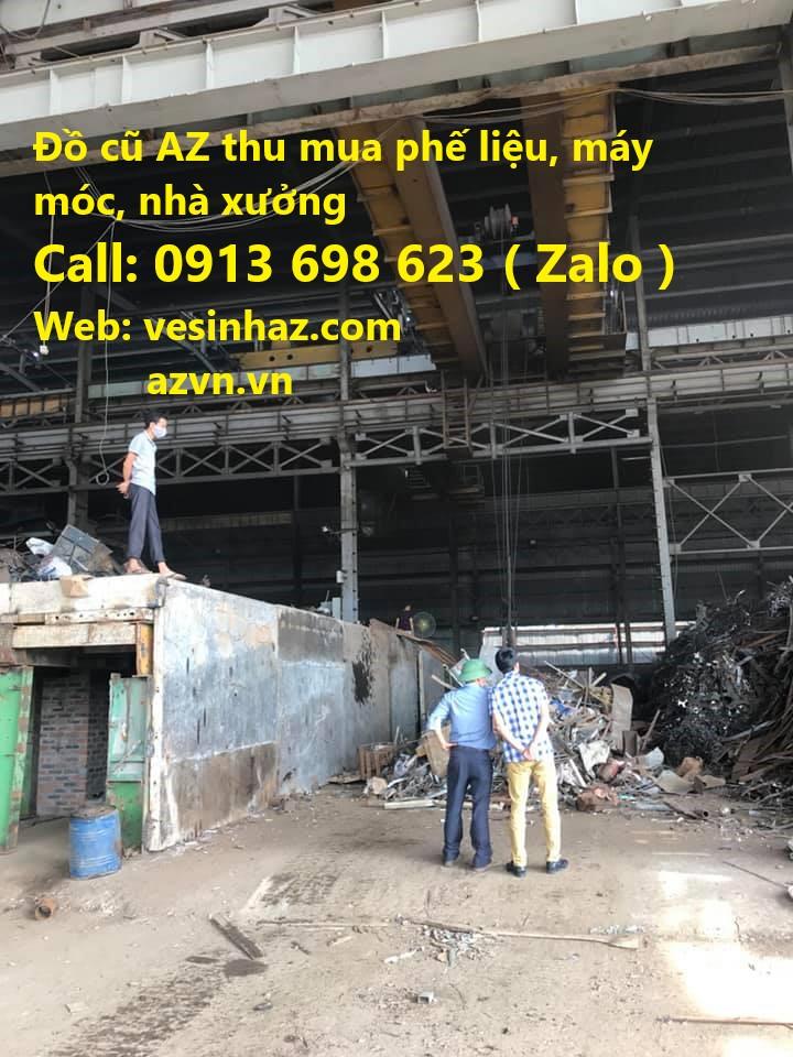 Đơn vị chuyên thu mua sắt thép phế liệu giá cao ở Vĩnh Phúc, Hà Nội, Bắc Ninh